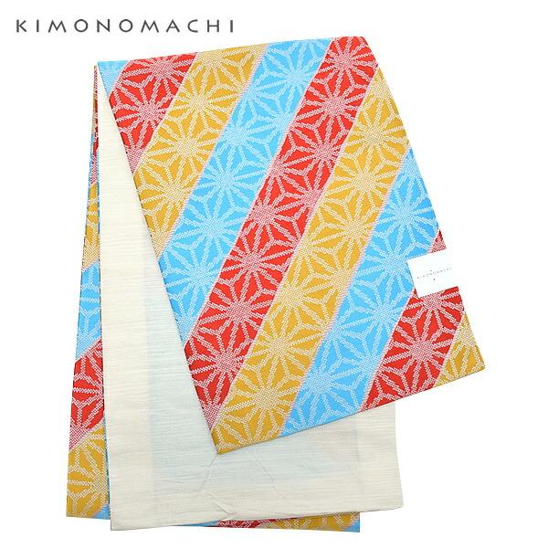 全通柄 カジュアル帯 袋名古屋帯