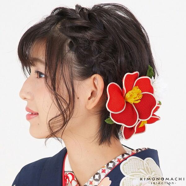 お花髪飾り 振袖髪飾り コーム髪飾り