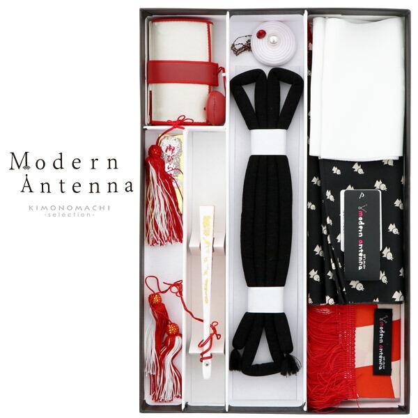 箱迫セット 箱迫、バッグ、草履、帯締め、末広 モダンアンテナ
