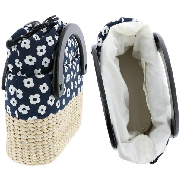 バッグ単品 浴衣巾着 編み籠バッグ