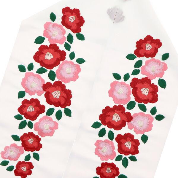 ブライダル半衿 刺繍半襟 洒落衿