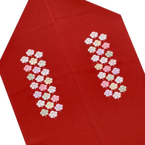 刺繍帯揚げ 正絹帯揚げ 華やか帯揚げ