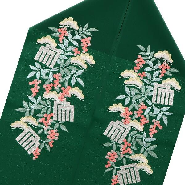 シルフィル 刺繍半襟 洒落衿
