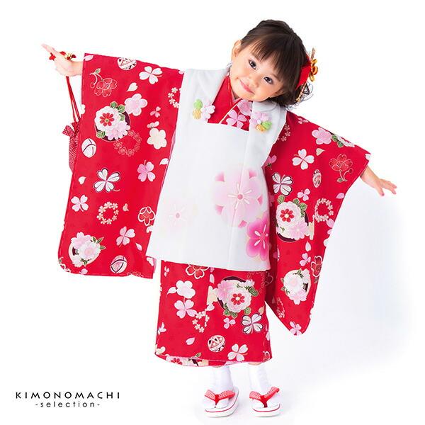 3歳向け 七五三祝い 子供着物