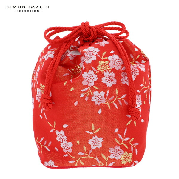 巾着単品 金襴 桃の節句、ひな祭り