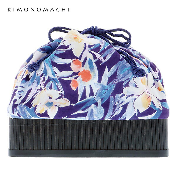 京都きもの町 巾着バッグ 浴衣巾着