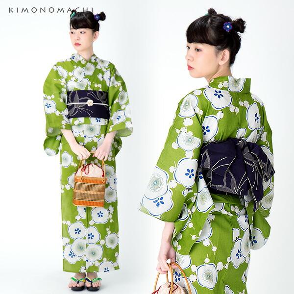 S、F、TL、LL 京都きもの町オリジナル 女性浴衣セット
