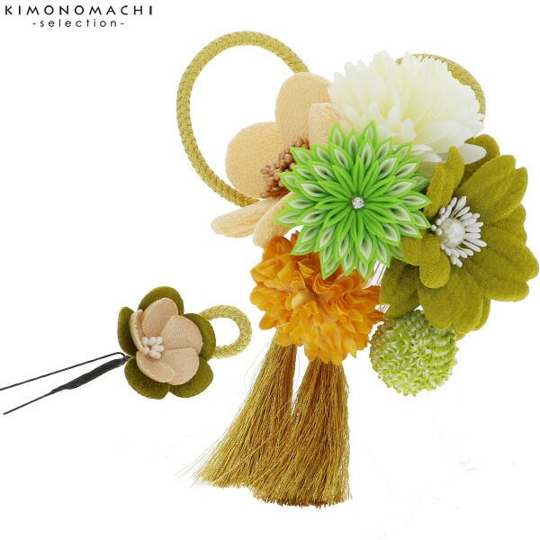 髪飾り2点セット 成人式、結婚式 髪飾り