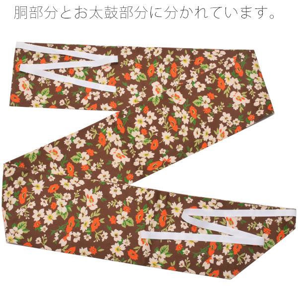 木綿名古屋帯 軽装帯 コットン