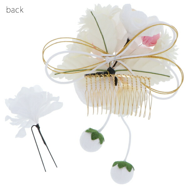 髪飾り2点セット 成人式、結婚式 振袖髪飾り