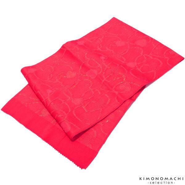 帯揚げ 正絹帯揚げ スリット糸通しハート