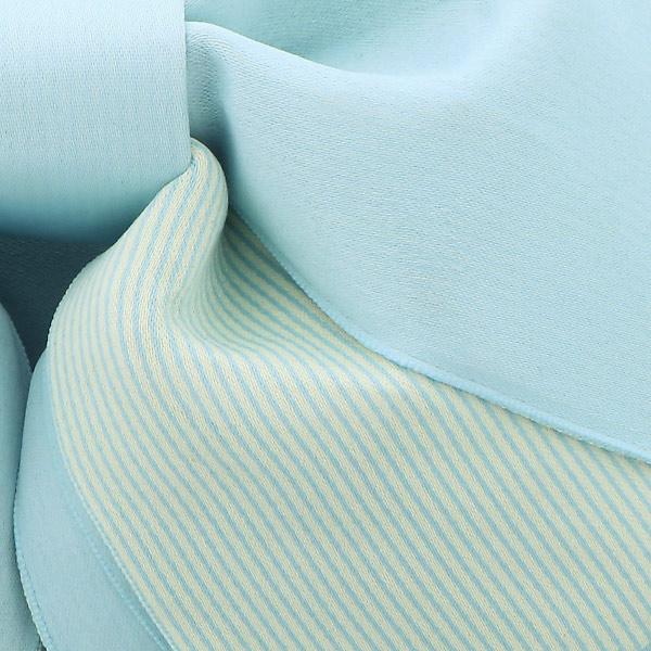 作り帯 結び帯 付帯 浴衣帯 着付け簡単 リボンタイプ 「無地×ストライプ アイスグレー」 日本製 LMB-ST9【メール便不可】