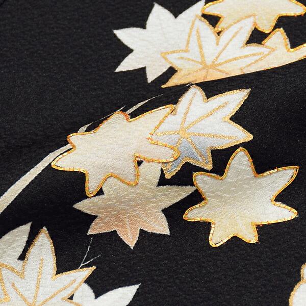 訪問着 お仕立て上がり 単品 「黒 四季折々の花」 正絹着物 礼装 正絹 訪問着 パーティー 祝賀会 袷 プレタ 仕立てあがり <T>【メール便不可】