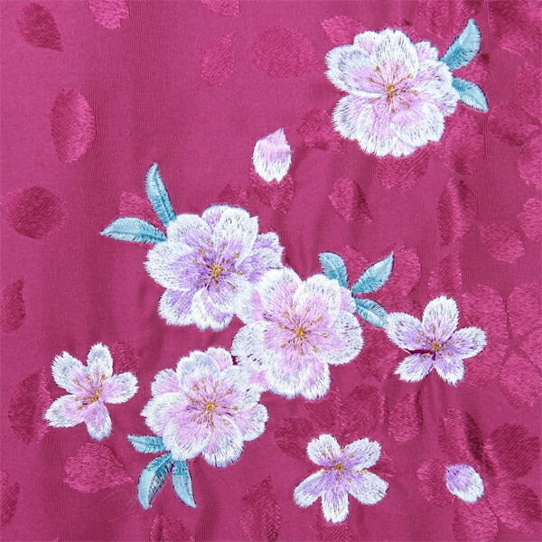 袴 単品 「ピンク ぼかし 桜の刺繍 Mサイズ/Lサイズ」 卒業式 袴 レディース 行燈袴 女性用袴単品 【メール便不可】