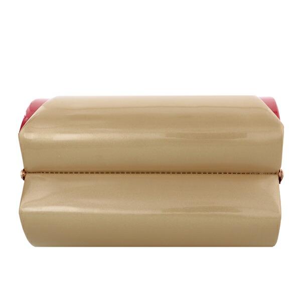 振袖 草履 バッグ 成人式 「スモーキーゴールド×カーマイン No.4」 シンプルな無地 草履Lサイズ 24cm前後 女性用 レディース 振袖用草履バッグセット <R>【メール便不可】