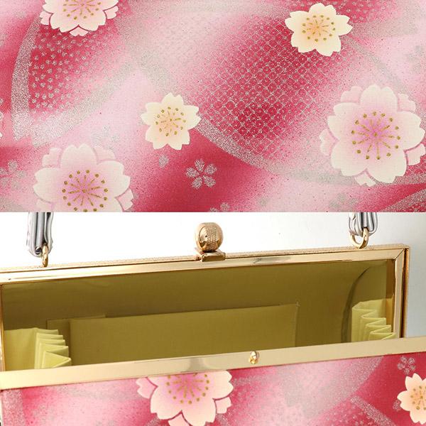振袖 草履 バッグ 成人式 「桜・花の丸 全6柄」 エナメル調 花柄 草履Lサイズ 24cm前後 女性用 レディース 振袖用草履バッグセット <R>【メール便不可】