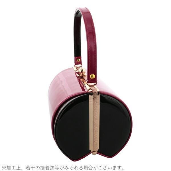 振袖 草履 バッグ 成人式 「ダークチェリー×ブラック No.1」 シンプルな無地 草履Lサイズ 24cm前後 女性用 レディース 振袖用草履バッグセット <R>【メール便不可】