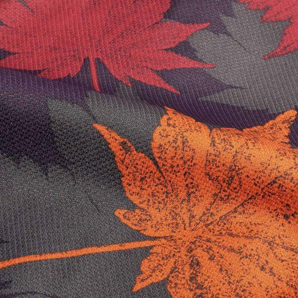 羽織 単品 KIMONOMACHI オリジナル 「楓 深紫」 ポリエステル 洗える羽織 きもの福袋から飛び出したオリジナル羽織 京都きもの町オリジナル カジュアル着物 【メール便不可】
