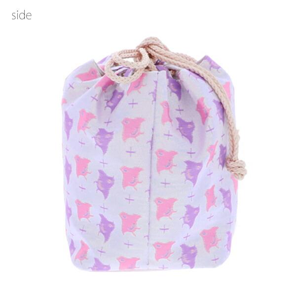 七五三 女の子 巾着 バッグ 単品「赤色 桜とうさぎ・朱赤×金色 桜・白色 千鳥 全3柄」 金襴 3歳 7歳 女児 七五三小物 和装 着物 <H>【メール便不可】
