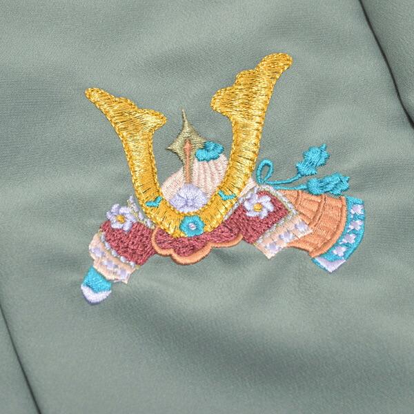 七五三 着物 3歳 男の子 被布コート 単品 「からし色・濃紺藍色・松葉色・鶸茶色・鼠色・象牙色 全6色」 日本製 中綿入り 男の子用被布コート単品 3才 男児用 三歳被布コート 【送料無料】【メール便不可】