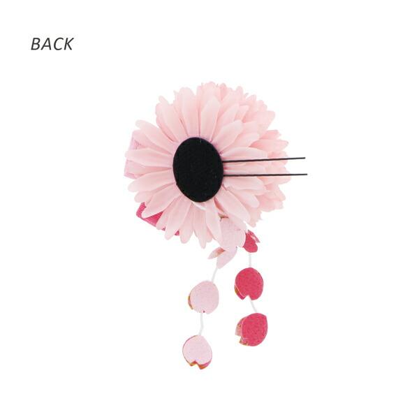 【訳アリ】【アウトレット品】 クリップ髪飾り 「マムとつまみのお花、房飾りUピン 全2色」 ヘアアクセサリー 大人用・子供用 レディース 着物 和装 浴衣 カジュアル着物 七五三 女の子 ワンポイント 髪飾り単品【メール便不可】