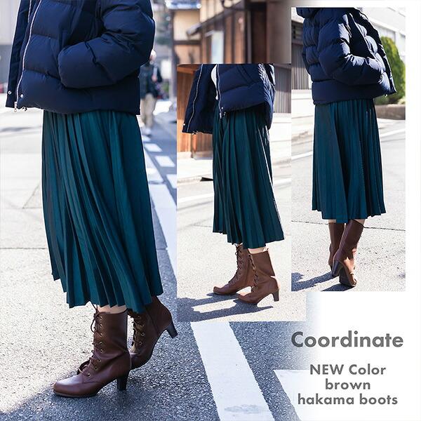 卒業式の袴ブーツ