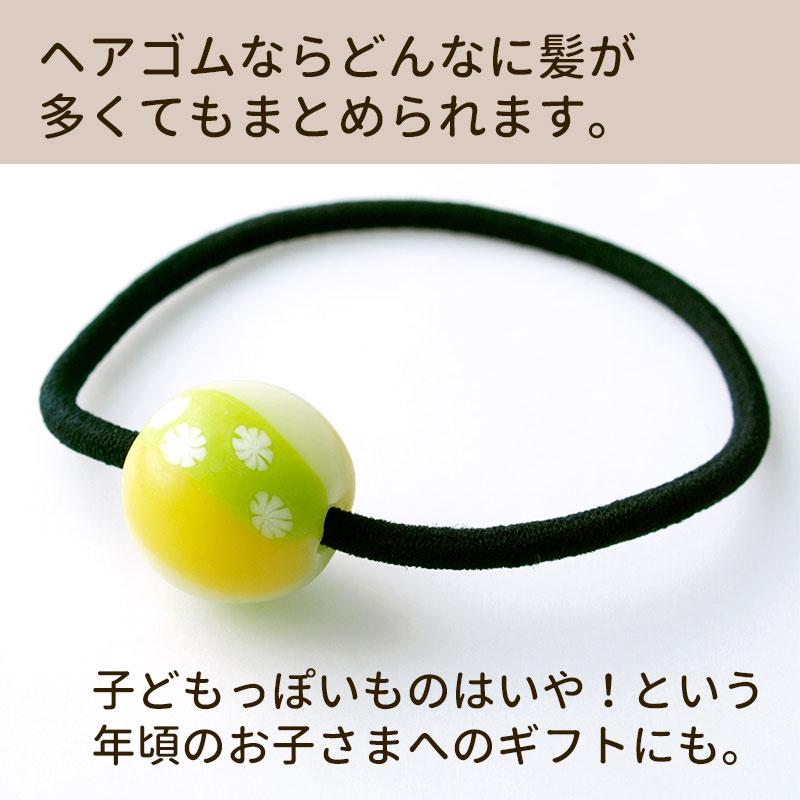 手まり玉ヘアゴム01-6