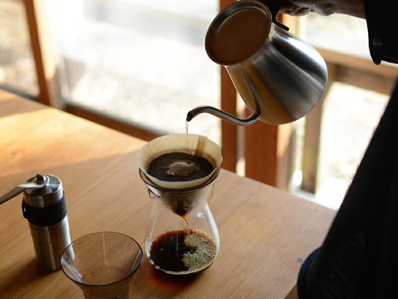 コーヒーが美味しく感じる、こだわりのドリップポットは?