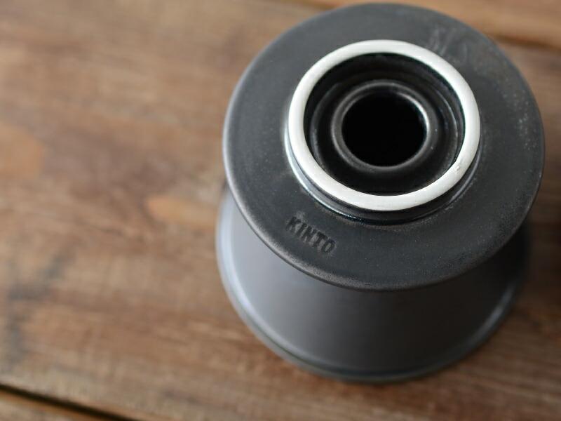 KINTO/キントー ブリューワー(磁器) 2cups ブラック [27521]