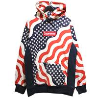 2014AW Box Logo Pullover Flag