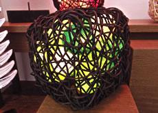 リンク - ラタンボックス 四角型