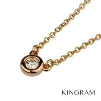 1Pダイヤ ネックレス K18PG