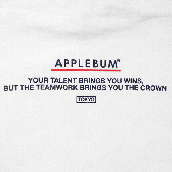 アップルバム パーカー