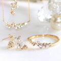 ダイヤモンドのリングやピアス、ネックレス