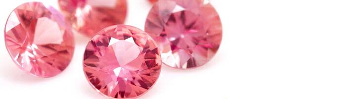 サクラブーケエタニティに使用している宝石「ピンクスピネル」の画像