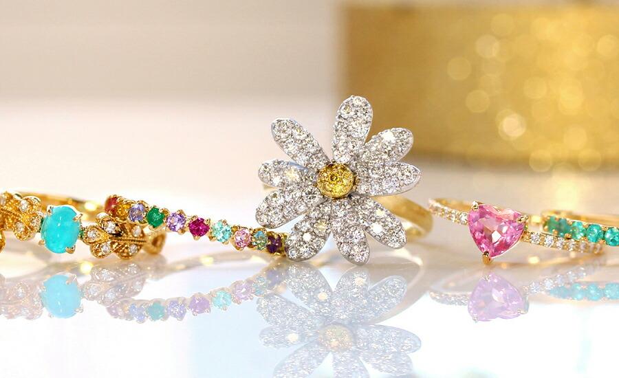 名古屋店 ディスプレイ ネックレス ピアス イヤリング リング 指輪