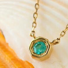 ダイヤモンドのフラワーモチーフK18ネックレス