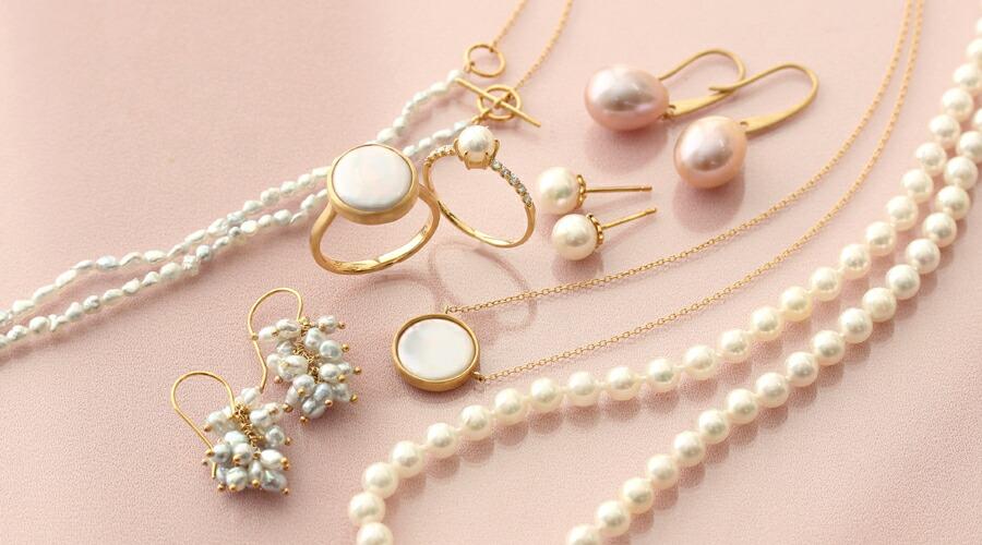 パール・真珠のリング・ネックレス・ピアス