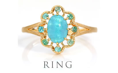 2018サマーコレクションの指輪