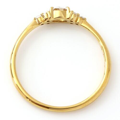 ダイヤモンドのリング「フラヴィ」上画像