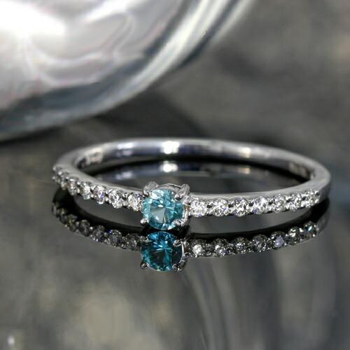 グランディディエライトとダイヤモンドのK18リング(指輪)