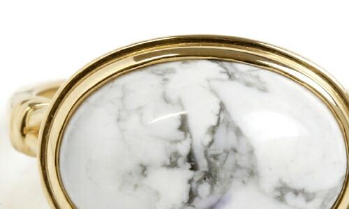 大粒ジュエリー×K18ゴールドジュエリーの18金エタニティリング