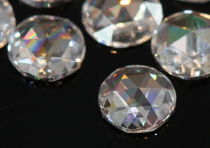 ローズカットダイヤモンドの宝石