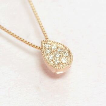 ダイヤモンドのネックレス