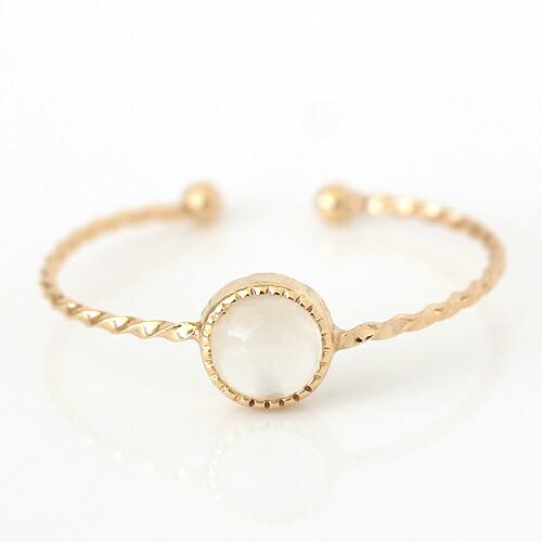 ブルームーンストーン指輪