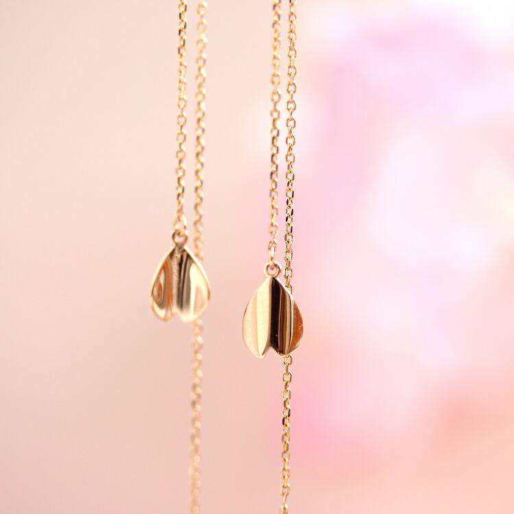 パールと誕生石のイヤリング