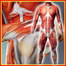 【速乾性スポーツウェア】マッスル・スキン・スーツロング (Muscle Skin Suit LONG)