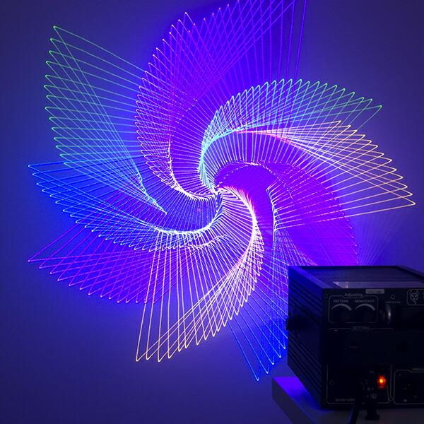 レーザー 照明 ビーム
