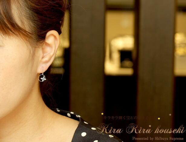 K14WG ブルートパーズ ピアス  キラキラ宝石店【即納可能】【送料無料】【11月の誕生石トパーズ】
