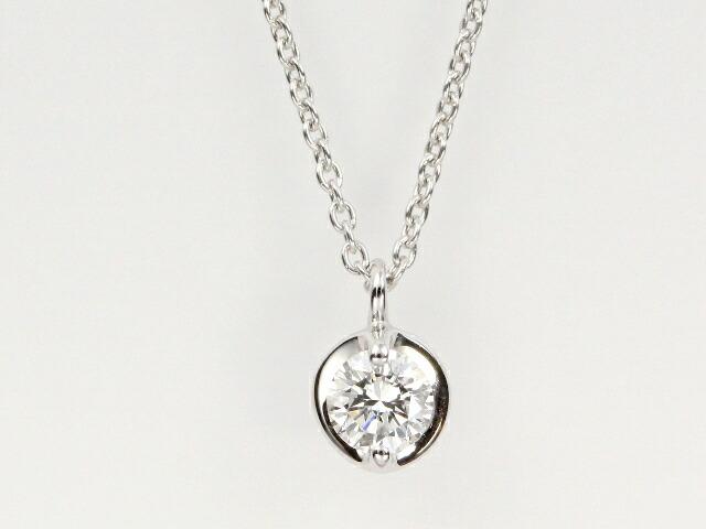 ロイヤルアッシャーダイヤモンド 1粒ダイヤペンダント